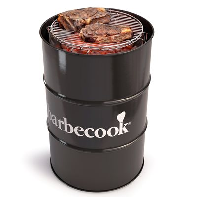 BARBECOOK EDSON BARREL BBQ in Black
