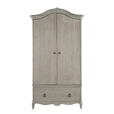 WILLIS & GAMBIER CAMILLE VINTAGE STYLE DOUBLE WARDROBE with Drawer