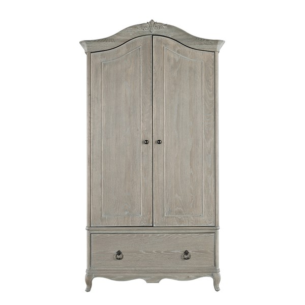 Camille Double Wardrobe with Drawer