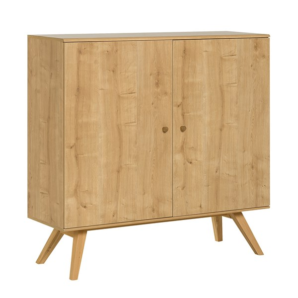 Nature Large Wooden Sideboard in Oak