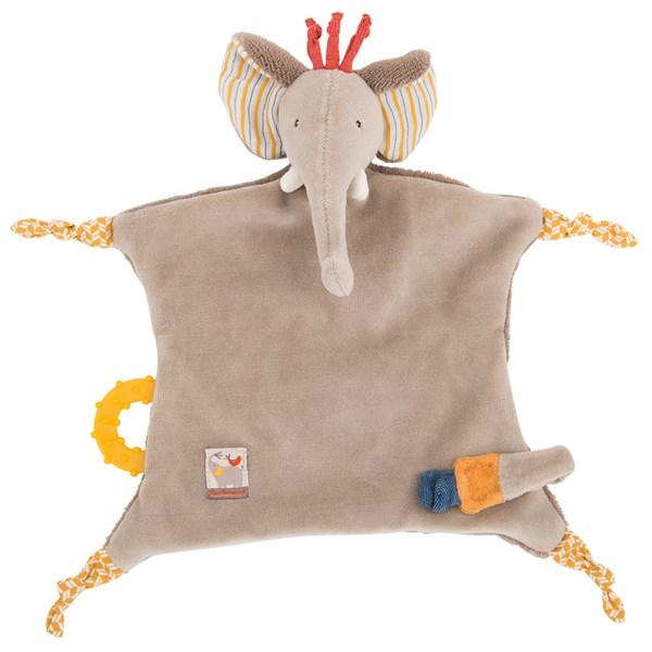 Childrens Elephant Pacifier Comforter Gift