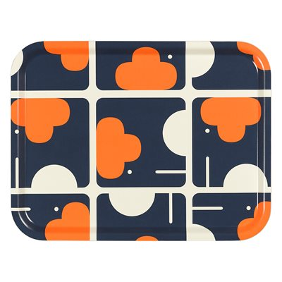 ORLA KIELY LARGE TRAY in Elephant Print