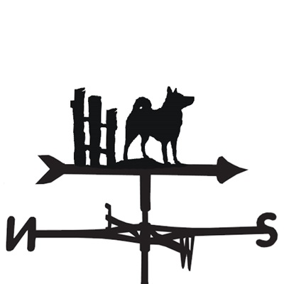 WEATHERVANE in Elkhound Design