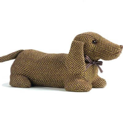 Ella Dachshund Dog Animal Doorstop by Dora Designs
