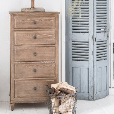 WILLIS & GAMBIER ELLE TALL CHEST OF DRAWERS