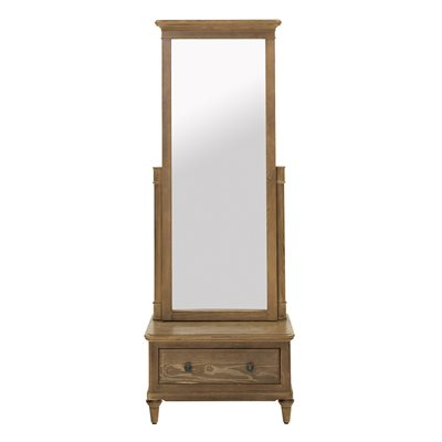WILLIS & GAMBIER ELLE FULL LENGTH MIRROR with Storage
