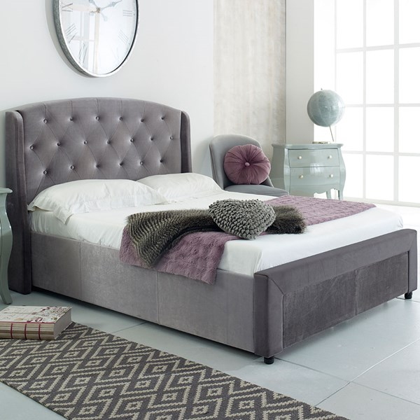 Ellen Upholstered Bed by Flair Furnishings