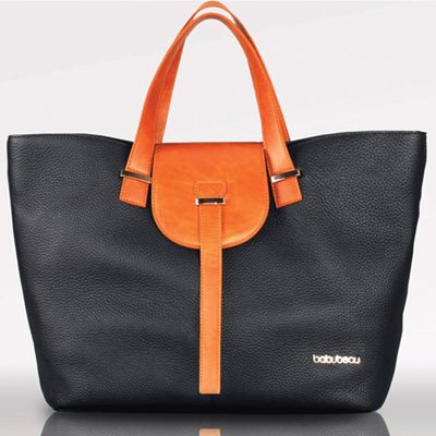 ELLIE BLACK DESIGNER CHANGING BAG