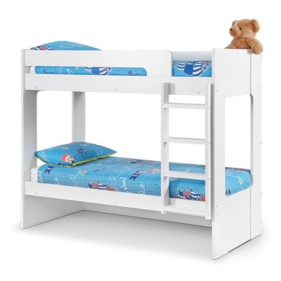 Ellie Kids Bunk Bed with Optional Trundle Bed by Julian Bowen