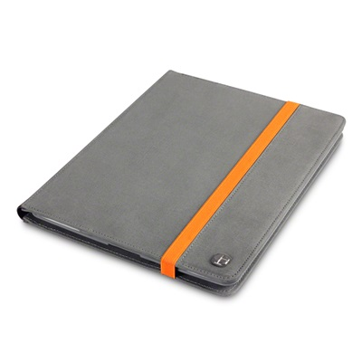 ELMWOOD Canvas iPad Case in Grey by Covert