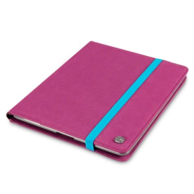 ELMWOOD Canvas iPad Case in Pink by Covert