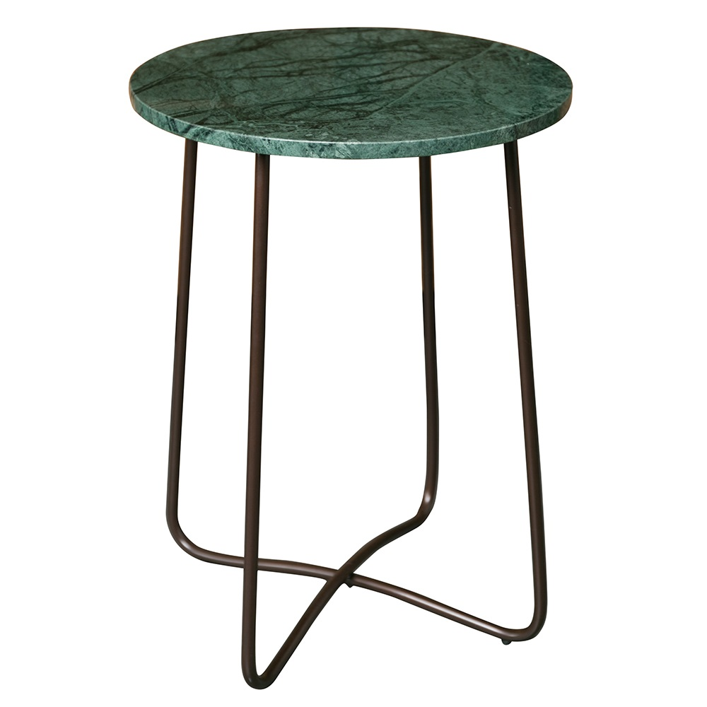 emerald marble side table home garden cuckooland. Black Bedroom Furniture Sets. Home Design Ideas