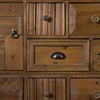 Vintage Style Wooden Cabinet with Drawers