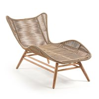 Product photograph showing Kubic Eucalyptus Chaise Longue