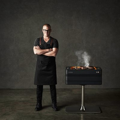 EVERDURE BY HESTON BLUMENTHAL FUSION BBQ with Pedestal