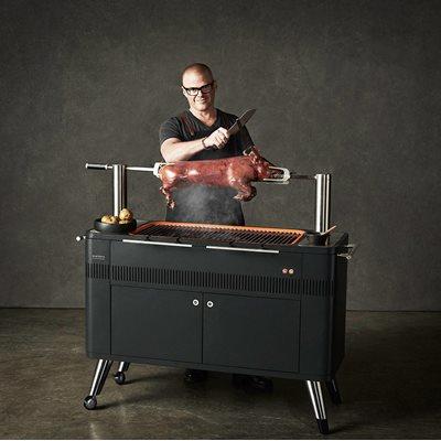 EVERDURE BY HESTON BLUMENTHAL HUB ELECTRIC CHARCOAL BBQ