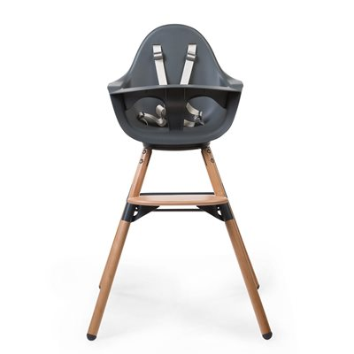 2 IN 1 EVOLU ONE.80º HIGH CHAIR in Anthracite