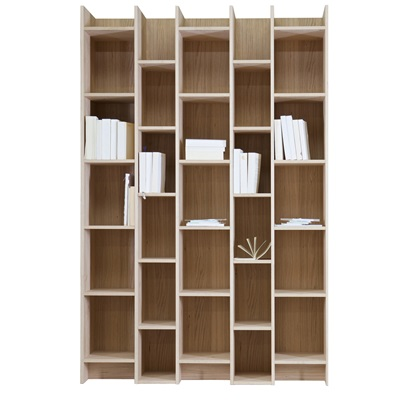 Save  EXPAND CABINET & BOOKCASE WITH EXTENSION in Oak Veneer