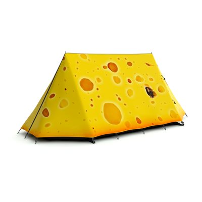 FIELDCANDY Cheese Please Tent