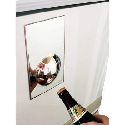 FRIDGE MAGNET Stainless Steel Bottle Opener by Suck UK