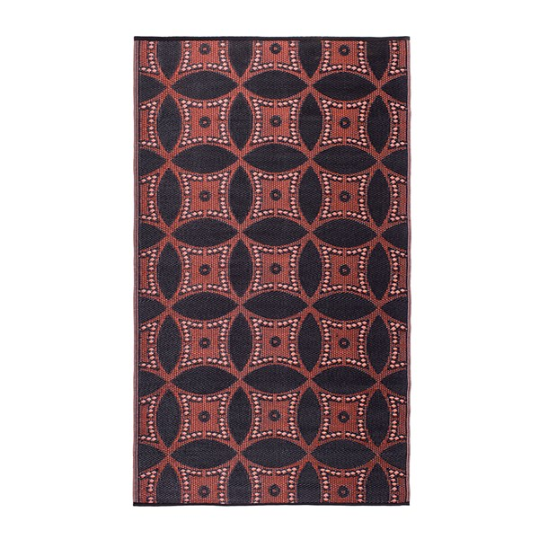 Fab Hab Chittagong Outdoor Rug in Black