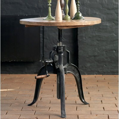 FACTORY COFFEE TABLE in Vintage Industrial Style