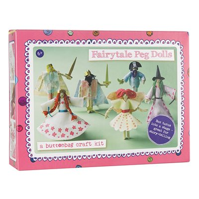 BUTTONBAG FAIRYTALE PEG DOLL CRAFT KIT