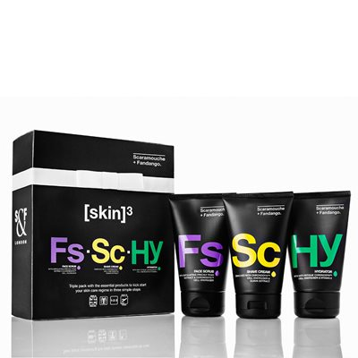SCARAMOUCHE & FANDANGO MEN'S TRIPLE PACK Gift Set