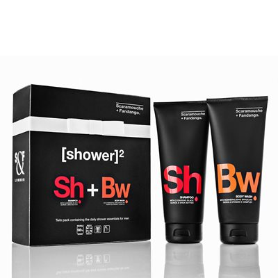 SCARAMOUCHE & FANDANGO MEN'S TWIN PACK Gift Set