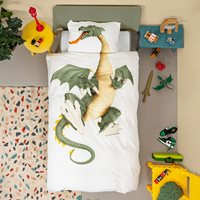 Snurk Single Dragon Duvet Bedding Set