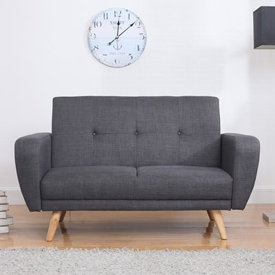 FARROW UPHOLSTERED SOFA BED in Dark Grey
