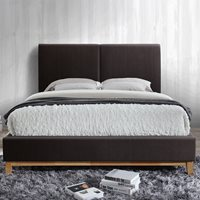 HELSINKI UPHOLSTERED BED in Faux Leather by Birlea  King