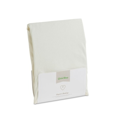 Organic Jersey Single Fitted Sheet 90 x 190 cm