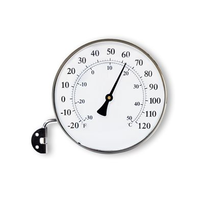 FITZROY CIRCULAR THERMOMETER in Charcoal Colour