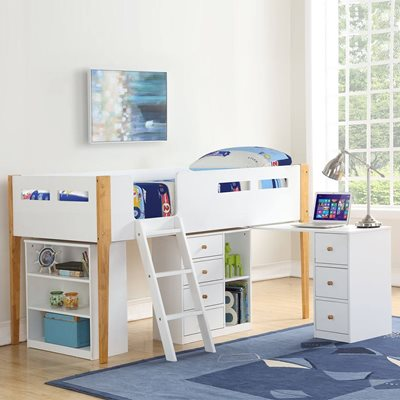 Addison Mid Sleeper Bed by Flair Furnishings