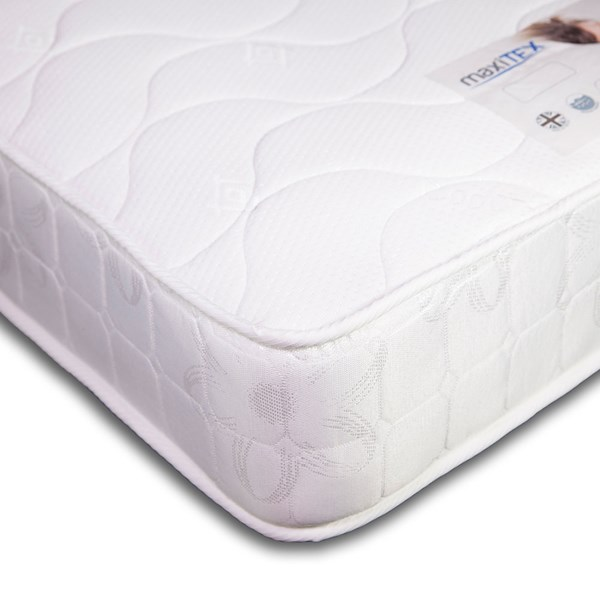 Maxitex Open Coil Sprung Mattress 90x200x16cm