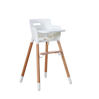 FLEXA ADJUSTABLE HIGH CHAIR in Beech For Up to 12 Yrs