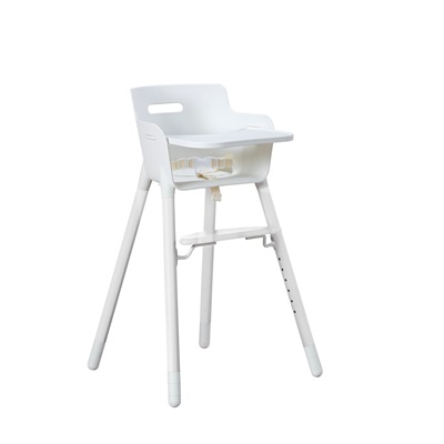 FLEXA ADJUSTABLE HIGH CHAIR in White For Up to 12 Yrs