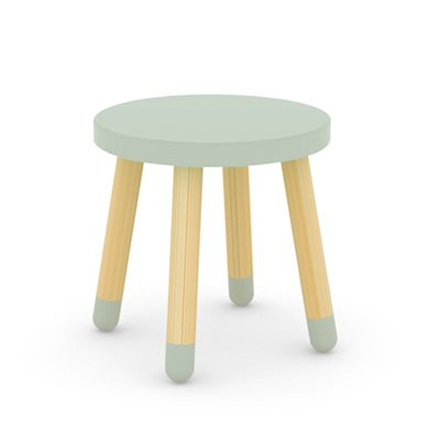 FLEXA KIDS STOOL in Mint Green