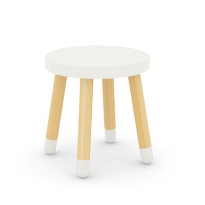 FLEXA KIDS STOOL  in White