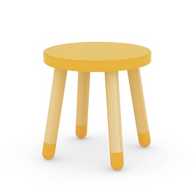 FLEXA KIDS STOOL  in Yellow