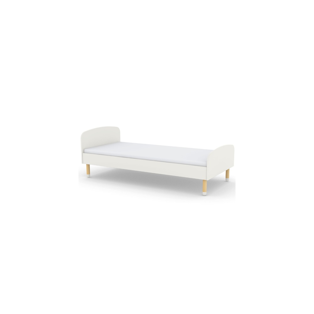 Kids Single Bed In White - Single Beds