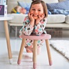 Childrens Stool in Pink
