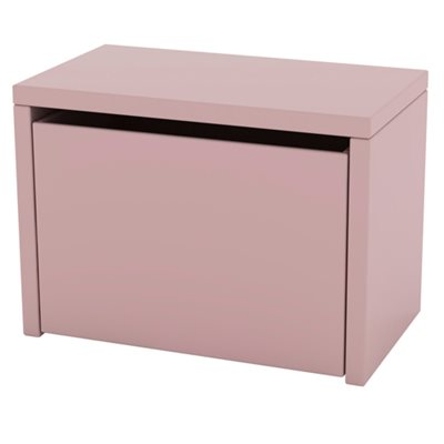FLEXA PLAY KIDS 3 IN 1 STORAGE BENCH in Rose Pink