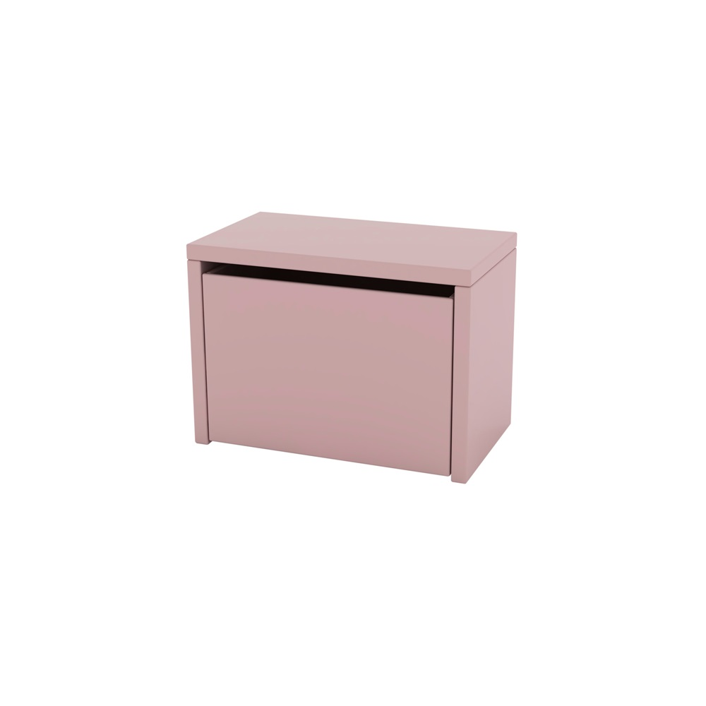 Kids 3 In 1 Storage Bench In Pink Storage Toy Boxes