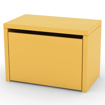 FLEXA PLAY KIDS 3 IN 1 STORAGE BENCH in Yellow