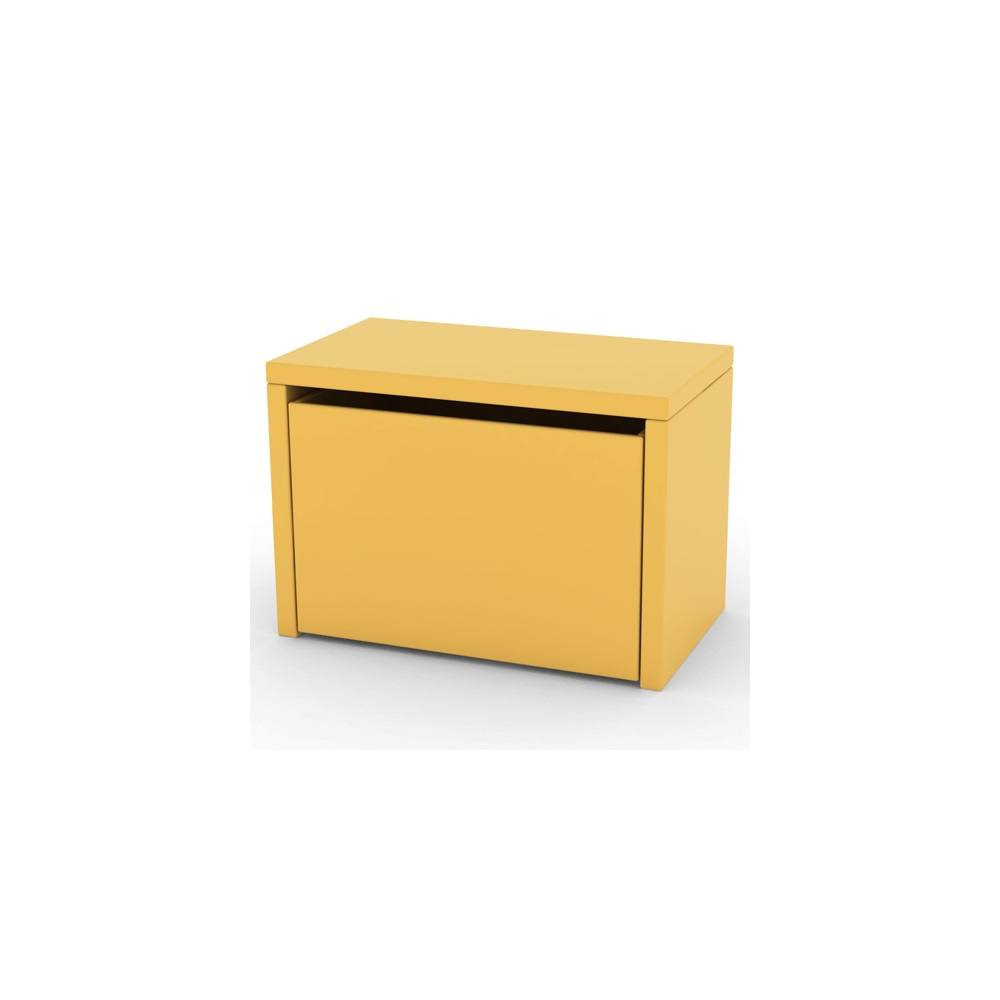 Kids 3 In 1 Storage Box In Yellow Storage Toy Boxes Cuckooland