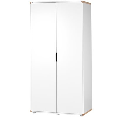 FLEXA KIDS HIGH WARDROBE in White and Birch