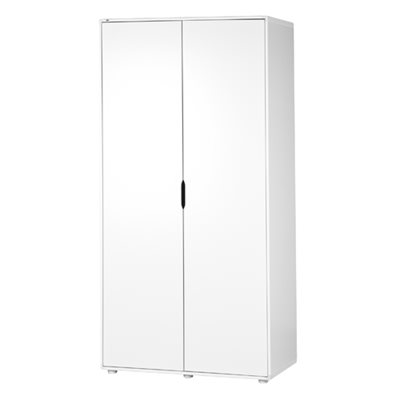 FLEXA KIDS HIGH WARDROBE in White