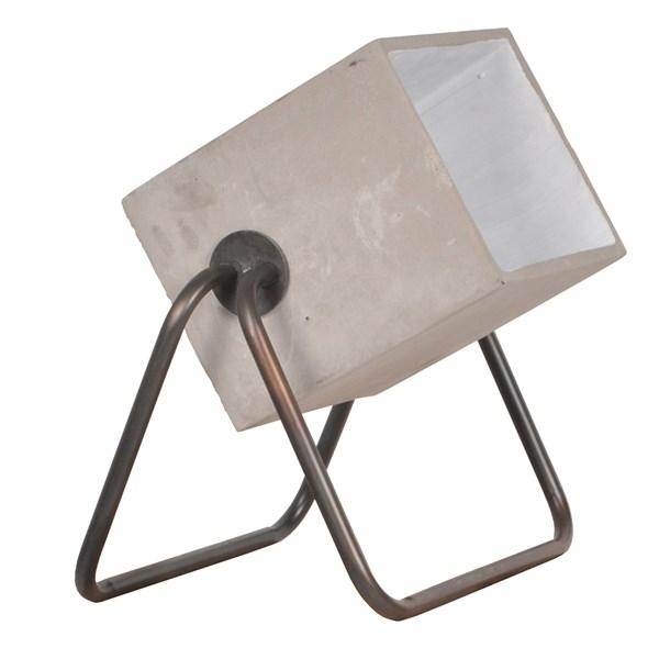 Modern Floor Lamp In Concrete